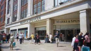 protest against marks and spencer over indian sweatshop